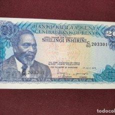 Billetes extranjeros: KENIA KENYA 20 SHILLINGS 1978 SC. Lote 193633278