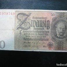 Billetes extranjeros: ANTIGUO BILLETE EXTRANJERO. Lote 194238570