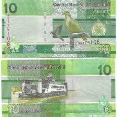 Billetes extranjeros: BILLETE DE GAMBIA 10 DALASIS 2019 SC. Lote 194253653