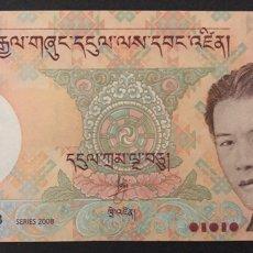 Billetes extranjeros: CMC BHUTAN 50 NGULTRUM 2008 PICK 31-A SC. Lote 194273540