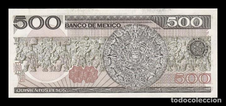 Billetes extranjeros: México 500 Pesos 1984 Pick 79b Serie DU SC UNC - Foto 2 - 194331928