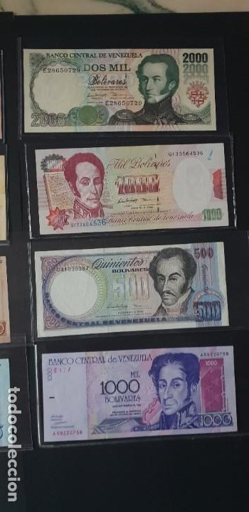 Billetes extranjeros: chollo...billetes de venezuela - Foto 2 - 194333712
