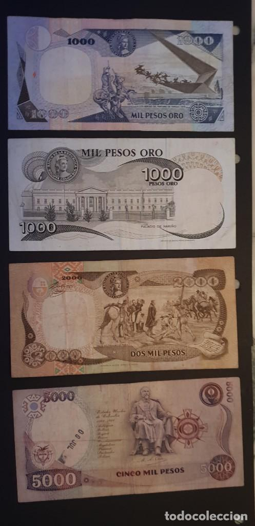 Billetes extranjeros: BILLETES ANTIGUOS DE COLOMBIAA....CHOLLO - Foto 6 - 194334213