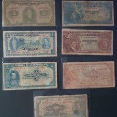 Billetes extranjeros: BILLETES MUYYY ANTIGUOS DE COLOMBIA. Lote 194334493