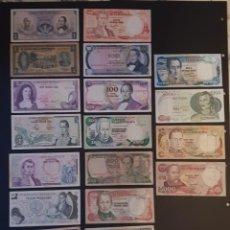 Billetes extranjeros: BILLETES MUYYY ANTIGUOS DE COLOMBIA. Lote 194335604