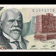 Billetes extranjeros: MÉXICO 2000 PESOS 1984 PICK 82C SERIE AD SC UNC. Lote 194396646