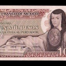 Billetes extranjeros: MÉXICO 1000 PESOS 1984 PICK 81 SERIE WL SC UNC. Lote 194398075
