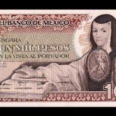 Billetes extranjeros: MÉXICO 1000 PESOS 1984 PICK 81 SERIE WW SC UNC. Lote 194398690