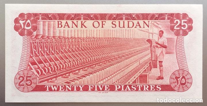 SUDAN. 25 PIASTRAS (Numismática - Notafilia - Billetes Extranjeros)