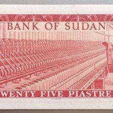 Billetes extranjeros: SUDAN. 25 PIASTRAS. Lote 194527186