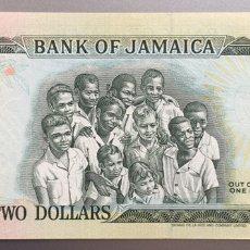 Billetes extranjeros: JAMAICA. 2 DOLARES. Lote 194531538