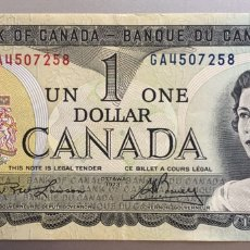 Billetes extranjeros: CANADA. 1 DOLAR. Lote 194542771