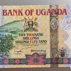 Billetes extranjeros: UGANDA. 5000 SHILLINGS. Lote 194633113
