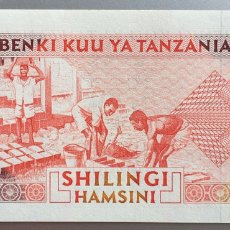 Billetes extranjeros: TANZANIA. 50 SHILINGI. Lote 194633642