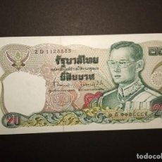 Billetes extranjeros: TAILANDIA 20 BAHT 1981. Lote 194634663
