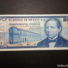 Billetes extranjeros: MEXICO 50 PESOS 1981. Lote 194638126