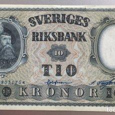 Billetes extranjeros: SUECIA. 10 CORONAS 1960. Lote 194647681