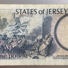 Billetes extranjeros: JERSEY. 1 LIBRA. Lote 194647695