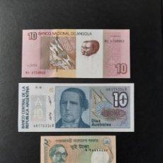 Billetes extranjeros: COLECCIÓN BILLETES DEL MUNDO - 54 BILLETES NUEVOS DE 54 PAÍSES DIFERENTES. Lote 194696255