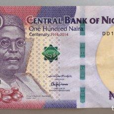 Billetes extranjeros: NIGERIA. 100 NAIRA. Lote 194731356