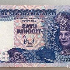 Billetes extranjeros: MALASIA. 1 RINGGIT 1989. Lote 194733435