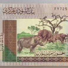 Billetes extranjeros: SUDAN. 50 LIBRAS. Lote 194733832
