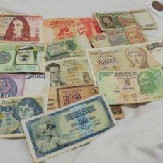 Billetes extranjeros: LOTE BILLETES USADOS. Lote 194737840