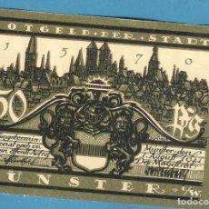 Billetes extranjeros: BILLETE DE ALEMANIA. NOTGELD 50 PFENNIG 1921. Lote 194859453