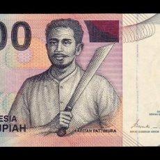 Billetes extranjeros: INDONESIA 100 RUPIAH 2000 (2007) PICK 141H SC UNC. Lote 194882213