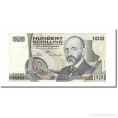 Billetes extranjeros: BILLETE, 100 SCHILLING, 1984, AUSTRIA, 1984-01-02, KM:150, SC. Lote 194890173