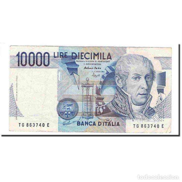 BILLETE, 10,000 LIRE, 1984, ITALIA, 1984-09-03, KM:112C, MBC (Numismática - Notafilia - Billetes Extranjeros)