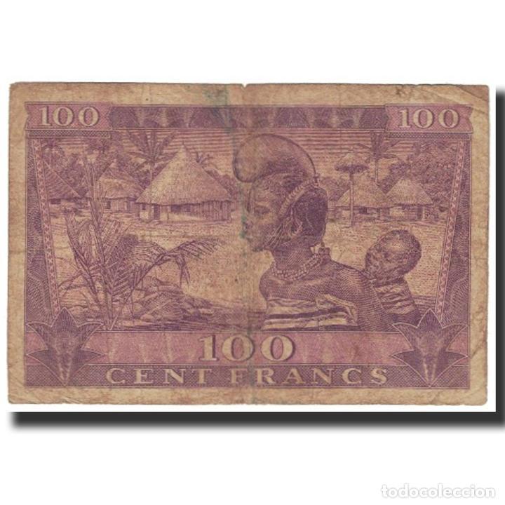 Billetes extranjeros: Billete, 100 Francs, 1958, Guinea, 1958-10-02, KM:7, BC - Foto 2 - 194897961