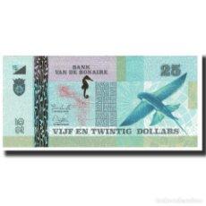 Billetes extranjeros: BILLETE, 25 DOLLARS, PAÍSES BAJOS, UNC. Lote 194905047