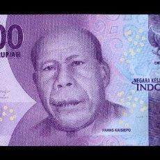 Billetes extranjeros: INDONESIA 10000 RUPIAH 2016 PICK 157A SC UNC. Lote 194915318