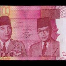 Billetes extranjeros: INDONESIA 100000 RUPIAH 2009 PICK 146F SC UNC . Lote 194916750