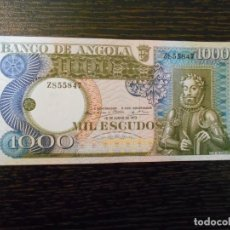 Billetes extranjeros: ANGOLA-BILLETE 1000 ESCUDOS-10-6-1973-PICK 108-SC. Lote 194982873