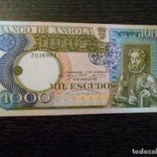 Billetes extranjeros: ANGOLA-BILLETE 1000 ESCUDOS-10-6-1973-PICK 108-SC. Lote 194982931