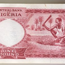 Billetes extranjeros: NIGERIA. 1 LIBRA. Lote 194984392