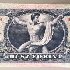 Billetes extranjeros: HUNGRIA. 20 FORINT. Lote 195013431