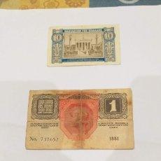 Billetes extranjeros: LOTE DE 9 BILLETES EXTRANJEROS ANTIGUOS. Lote 195080508