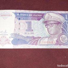 Billetes extranjeros: ZAIRE- 1 NUEVO ZAIRE- 24-06-1993-SC. Lote 195129307