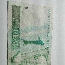 Billetes extranjeros: 85-BILLETE DE UN REAL DEL AÑO 1997 DE BRASIL. Lote 195143911