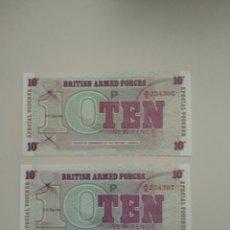 Billetes extranjeros: BILLETES DE BRITIS ARMED FORCES. Lote 195180646