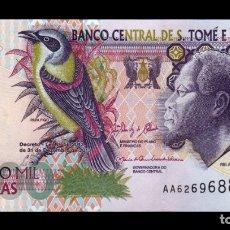 Billetes extranjeros: SANTO TOME Y PRINCIPE ST. THOMAS & PRINCE 5000 DOBRAS 2013 PICK 65D SC UNC. Lote 195188628