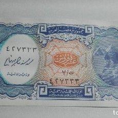 Billetes extranjeros: 161-BILLETE DIEZ PIASTRAS AÑO 1990 EGIPTO, ESTADO PLANCHA. Lote 195230706