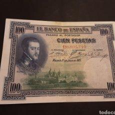 Billetes extranjeros: BILLETE 100 PESETAS ESPAÑA ALFONSO XIII II REPÚBLICA 1 JULIO 1925. Lote 195240591