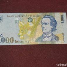 Billetes extranjeros: RUMANIA ROMANIA 1000 LEI 1998 SC. Lote 195240766