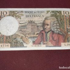 Billetes extranjeros: FRANCIA. 10 FRANCS 1965. Lote 195242543