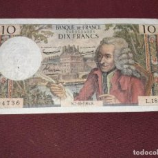 Billetes extranjeros: FRANCIA. 10 FRANCS 1965. Lote 195242552
