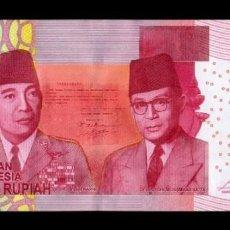 Billetes extranjeros: INDONESIA 100000 RUPIAH 2014 / 2015 PICK 153AB SC UNC. Lote 195267061